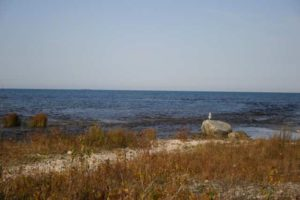 Lake Huron from viewed from Ossineke