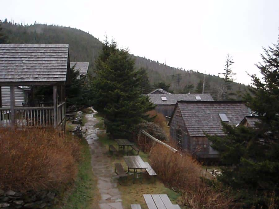 Mount LeConte Lodge's several bunkhouses