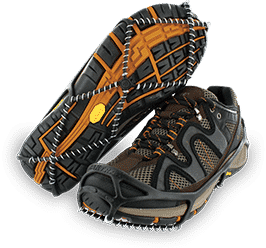 Yaktrax Walkers are a good basic crampon