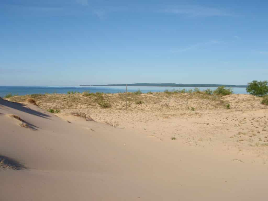 A view from Donner's Point on North Manitou Island